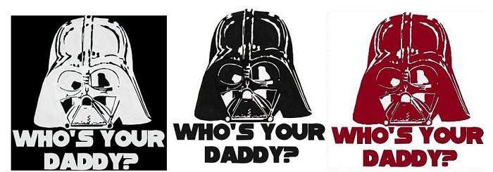 Darth Vader Window Sticker