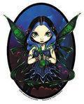 Remove Sorrow Blue Fairy Sticker