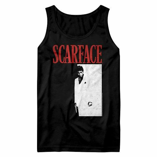 SCARFACE TANK TOP / SCARFACE MOVIE POSTER MEN'S TANK TOP TEE