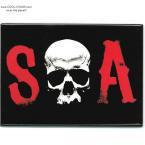 SOA Sons of Anarchy Skull Magnet