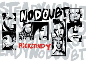 No Doubt #2 Postcard Rock Steady