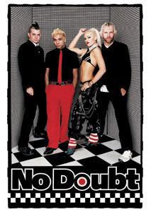 No Doubt Postcard #1 Band Photo Gwen Stefani