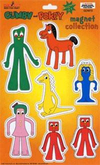 Gumby and Pokey Magnets Collection