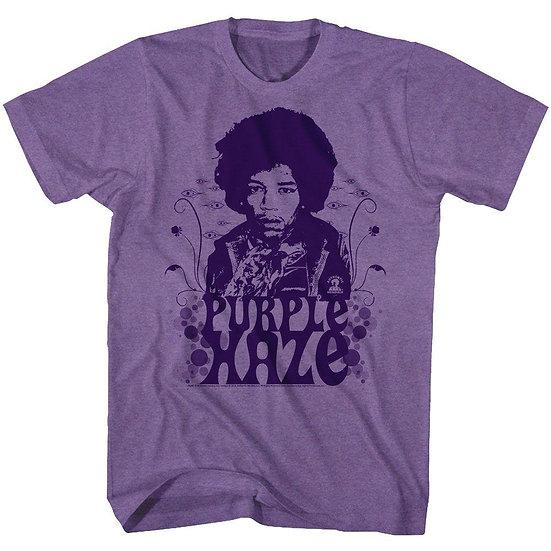 Purple Haze Jimi Hendrix T-Shirt / Hendrix Purple Rock Tee