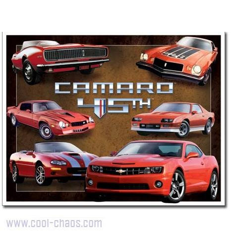 45th Anniversary Camaro Sign