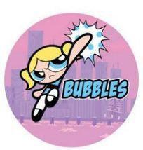 Powerpuff Girls Button-Bubbles Powerpuff Girls