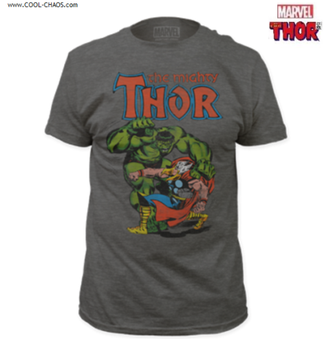 The Mighty Thor vs. The Incredible Hulk T-Shirt