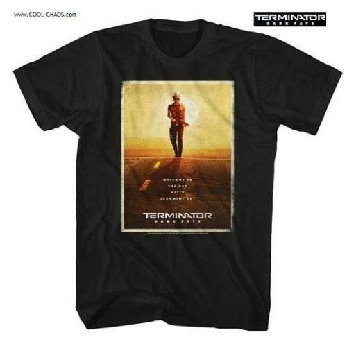 Terminator: Dark Fate T-Shirt / Sarah Conner,Terminator Dark Fate Movie Poster