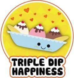 Ice Cream Sundae Cutie Sticker