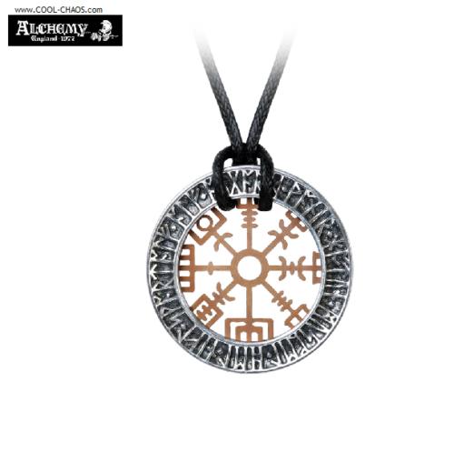 Nordic Stave Wayfinder Viking Amulet Necklace