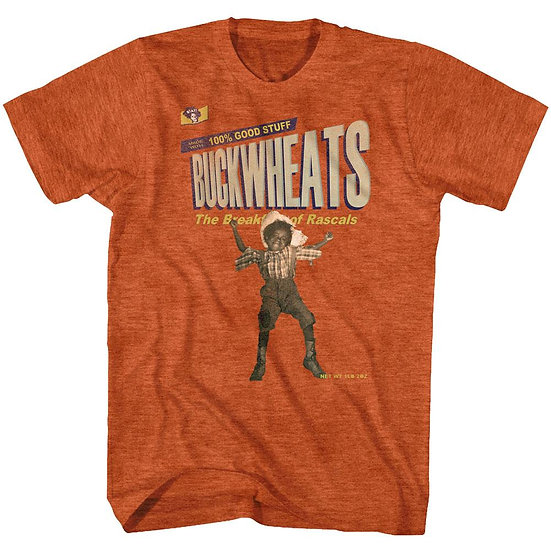 Buckwheat T-Shirt / Funny Wheaties Cereal Spoof
