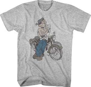 Biker Popeye T-Shirt