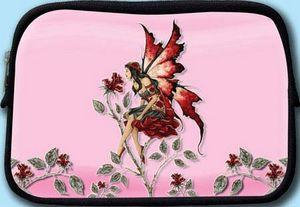 Rose Red Fairy Cosmetic Bag