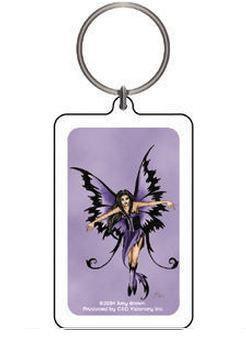 Purple Magic Fairy Keychain