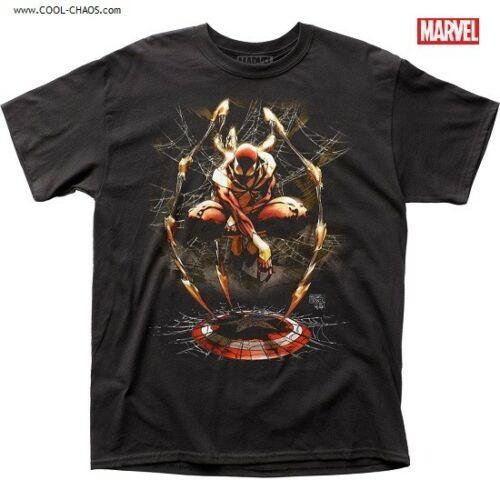 Iron Spider-Man T-Shirt / Captain America Shield by Marvel Comics Tee