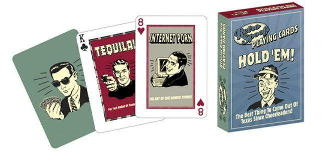 Retro Spoofs Playing Cards