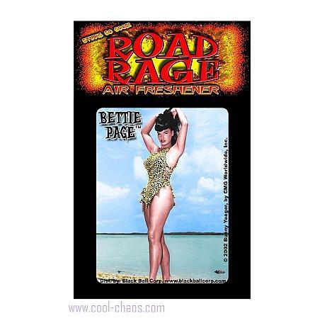 Beach Bunny Bettie Page Air Freshener