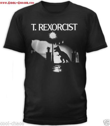 T-Rexorcist Exorcist T-Shirt Men's Sizes: S/M/L/XL/2X