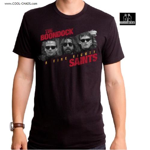 The Boondock Saints T-Shirt / Boondock Saints Movie Shirt,A fire fight Tshirt