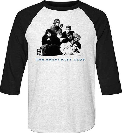 The Breakfast Club T-Shirt / 80s Breakfast Club Raglan Baseball Sleeves Tee