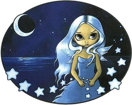 Celestial Star Spinner Fairy Sticker