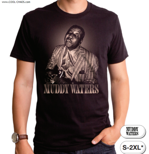 Muddy Waters T-Shirt / Muddy Waters Blues Man Tee