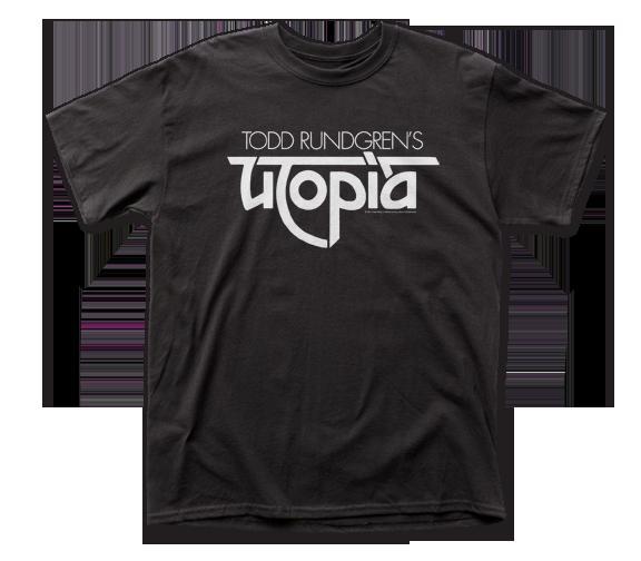 TODD RUNDGREN T-SHIRT / TODD RUNDGREN UTOPIA THOWBACK TEE