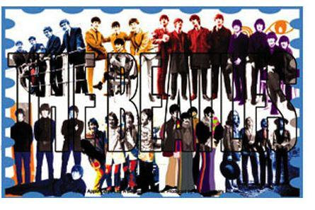 History of The Beatles Sticker