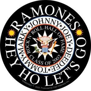 Rock n' Roll Hall of Fame The Ramones Sticker