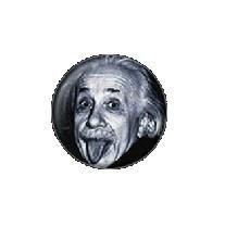 Mini Albert Einstein Button