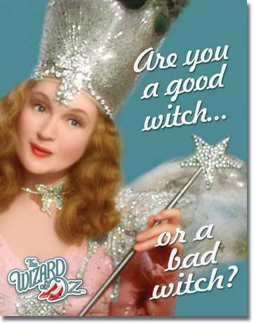 Glinda The Good Witch Wizard of Oz Sign