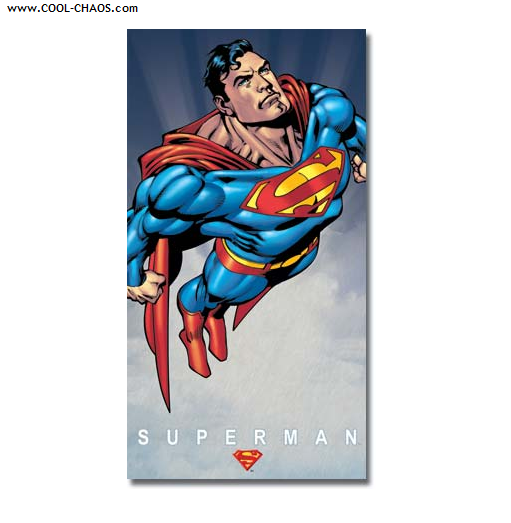 Superman Tin Sign / Cool 8.5 inch x 16 sign