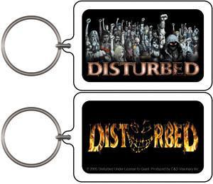 Disturbed Keychain