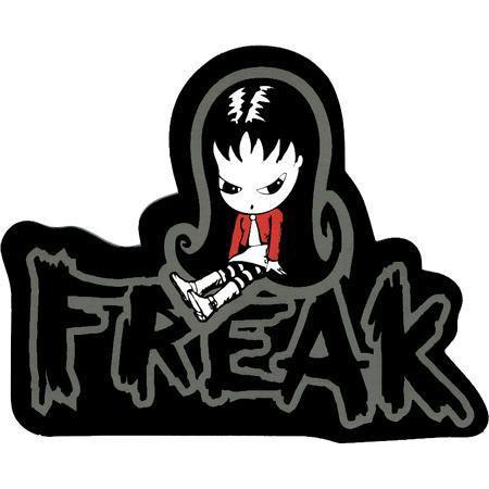 Sugar Hiccup Goth Girl Freak Sticker