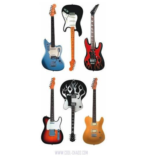 Fender Guitar Stickers Pack #1