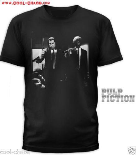 Pulp Fiction T-Shirt / Vincent and Jules Pulp Fiction