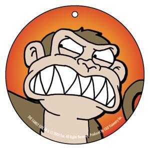 Evil Monkey Air Freshener