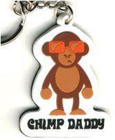 Chimp Daddy Monkey Keychain