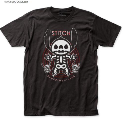 Disney's Lilo & Stitch T-Shirt / Sugar Skull X-Ray Stitch Experiment 626 Tee