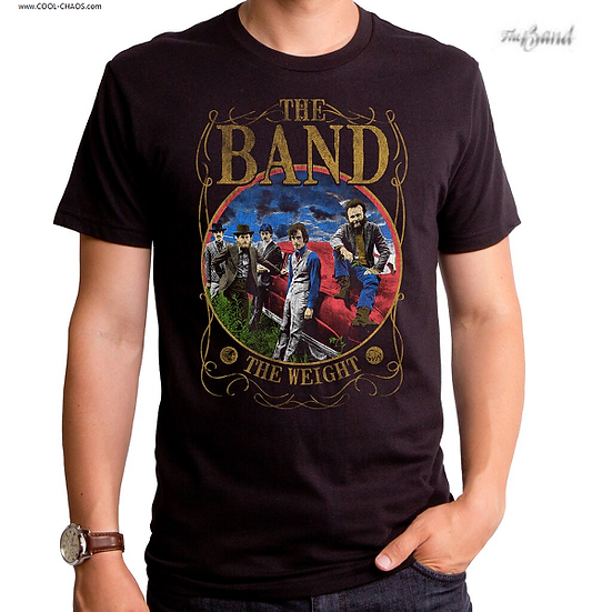The Band T-Shirt / The Band The Weight Throwback Classic Rock Tee