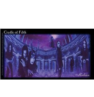 Median Cradle of Filth Sticker