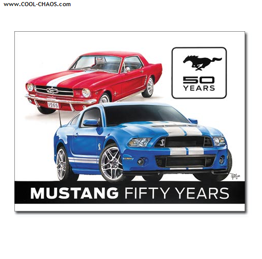 50th Anniversary Mustang Sign