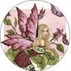 Rose Fairy Button
