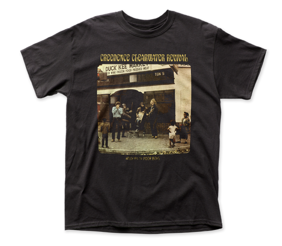 Creedence Clearwater Revival T-Shirt / CCR Willy and the Poor Boys Rock Tee