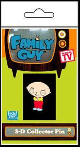 Family Guy 3D Stewie Collectors Button