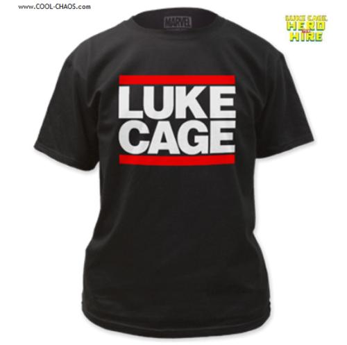 Luke Cage T-Shirt by Marvel Comics, Luke Cage Logo Tee