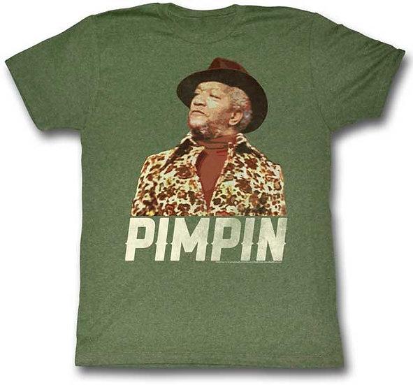 Redd Foxx T-Shirt / PIMPIN Old School Cool Tee
