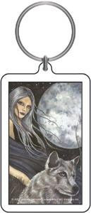 Mistress of Wolf Keychain