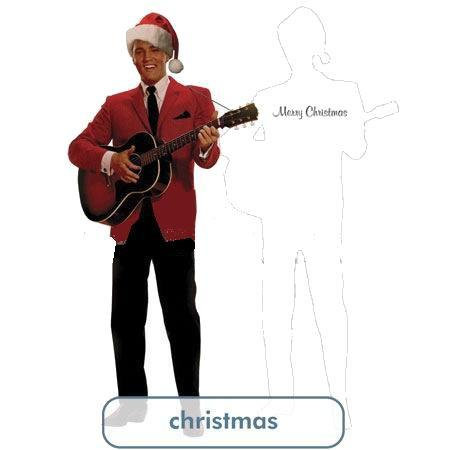 Santa Elvis Greeting Card