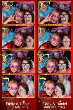 Photo Booth Strips wedding dj erie
